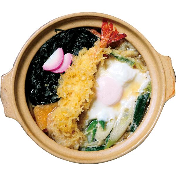 天ぷら鍋焼きうどん